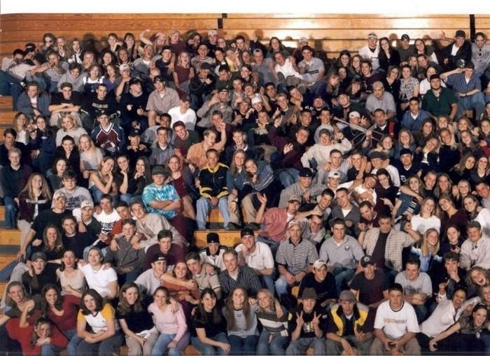 fotografia alumnos Columbine 1999