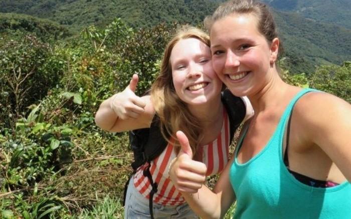 fotografia de Kris Kremers y Lisanne Froon perdidas en Panama