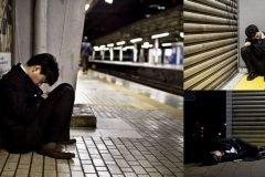 fotos trabajadores japon