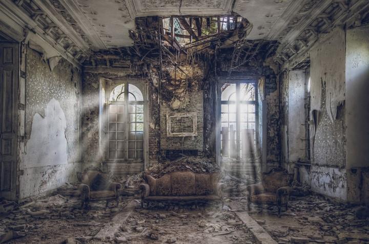 habitacion en ruinas