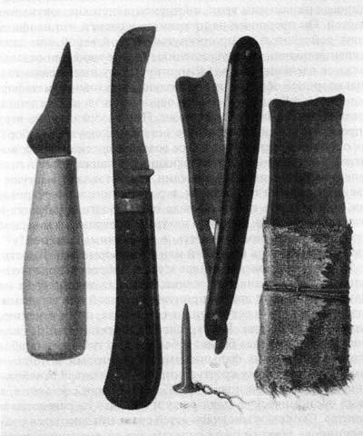 herramientas para la castración de los skoptsy