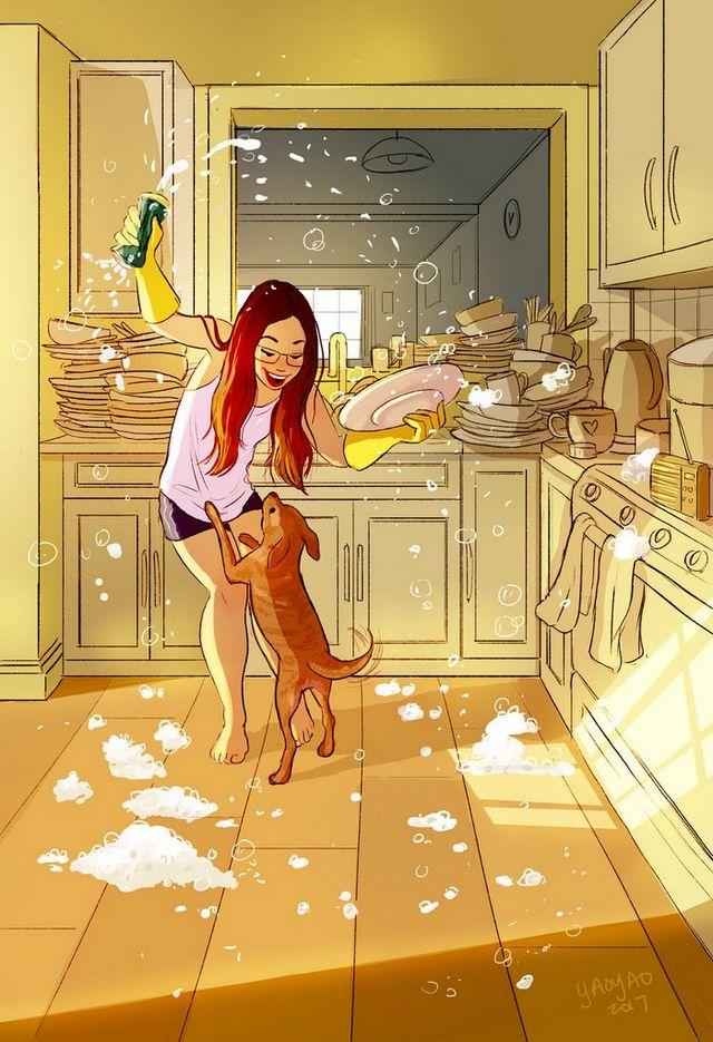 ilustraciones placer vivir solo (11)