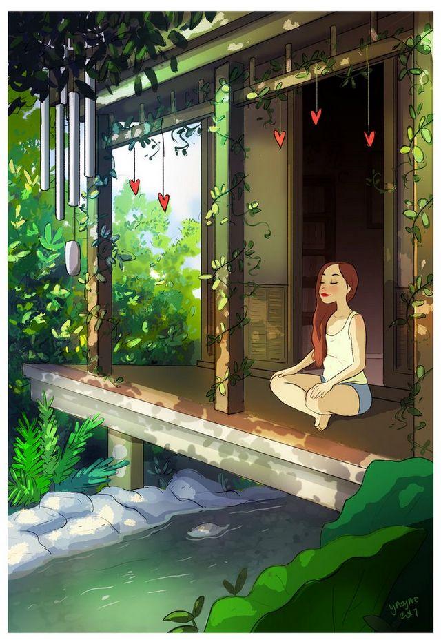 ilustraciones placer vivir solo (13)