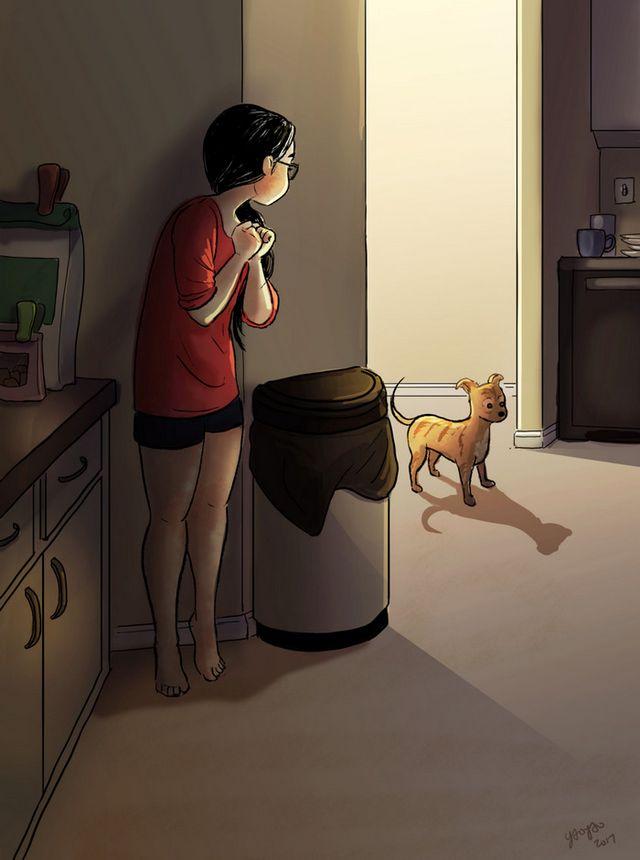 ilustraciones placer vivir solo (3)