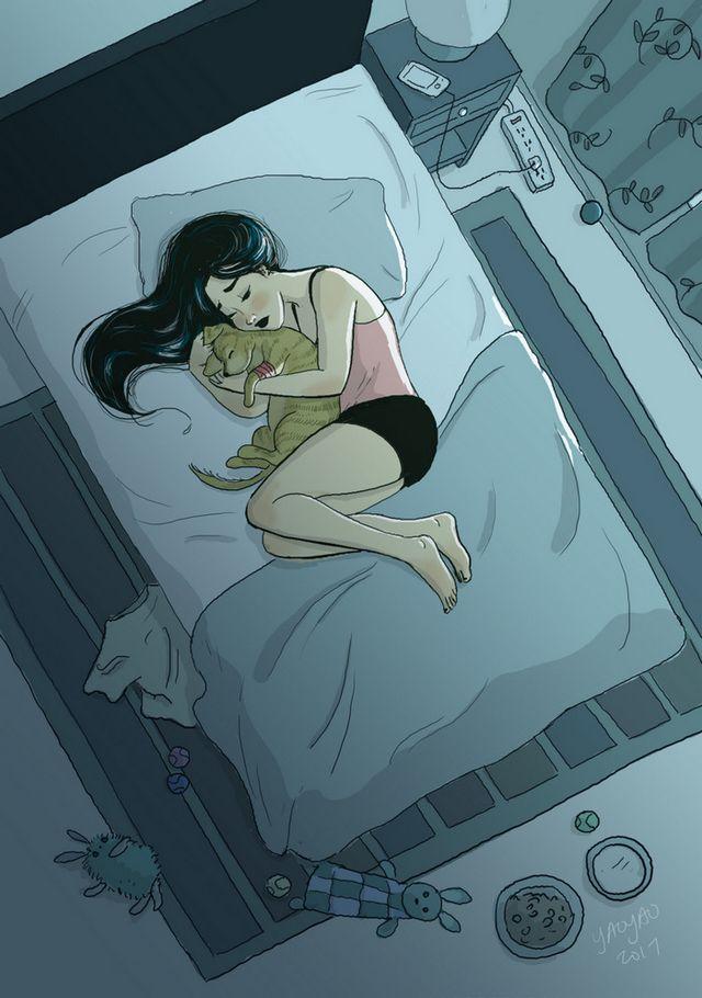 ilustraciones placer vivir solo (7)
