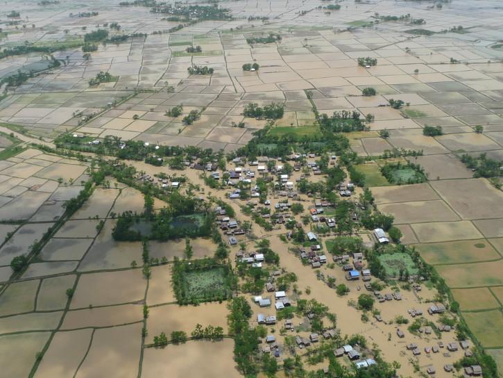 inundaciones del ciclon nargis