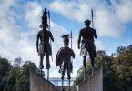 monumento guerrero esclavos congo