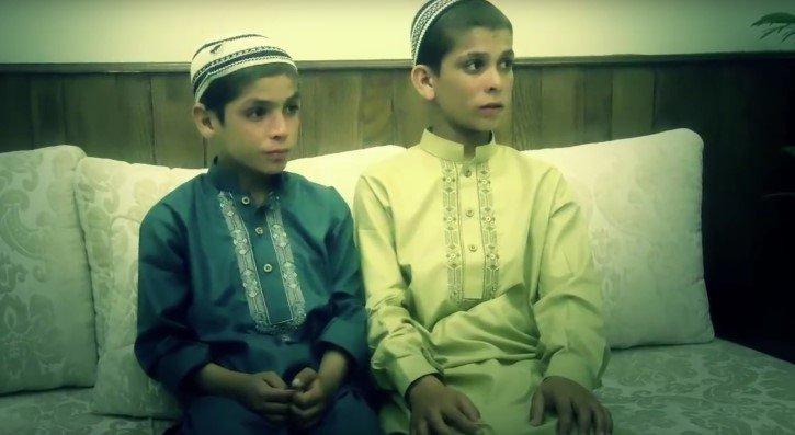 niños solares de pakistan