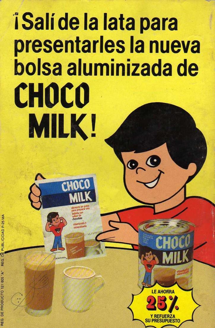 publicidad antigua chocomilk