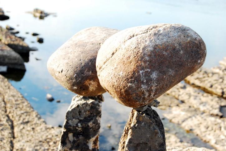 rocas y gravedad
