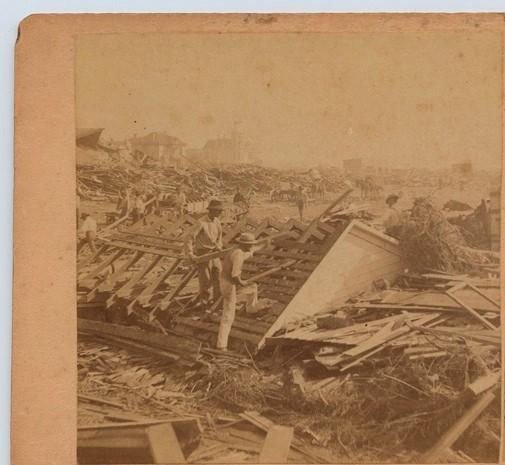 sobreviviente huracan galveston 1900