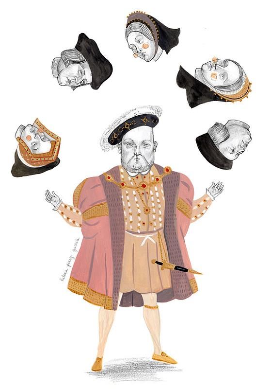 Enrique VIII cabezas