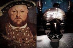 Enrique VIII y el yelmo con cuernos