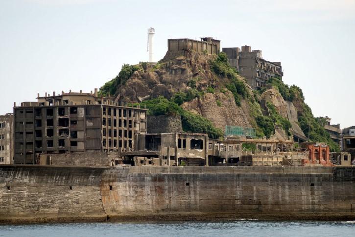 Hashima isla abandonada en japon