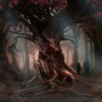 Jubokko arbol bebe sangre