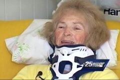 Mary Ann Franco recupera vista