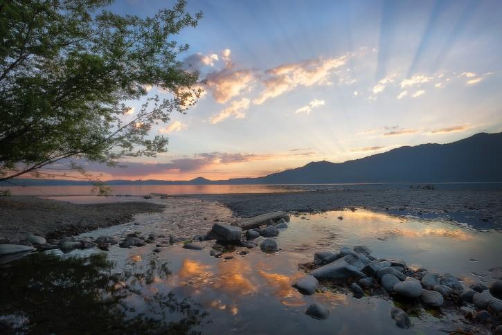 Quinault Lago
