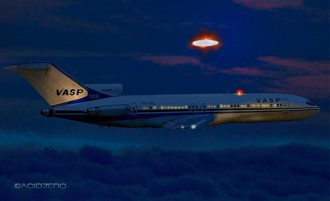 avion ovni