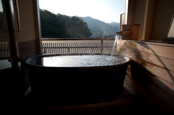 bañera en japon