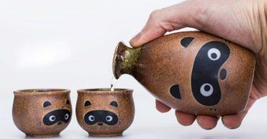 compartiendo sake