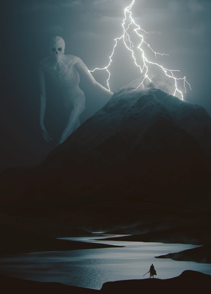 el antiguo dios de las montañas del norte