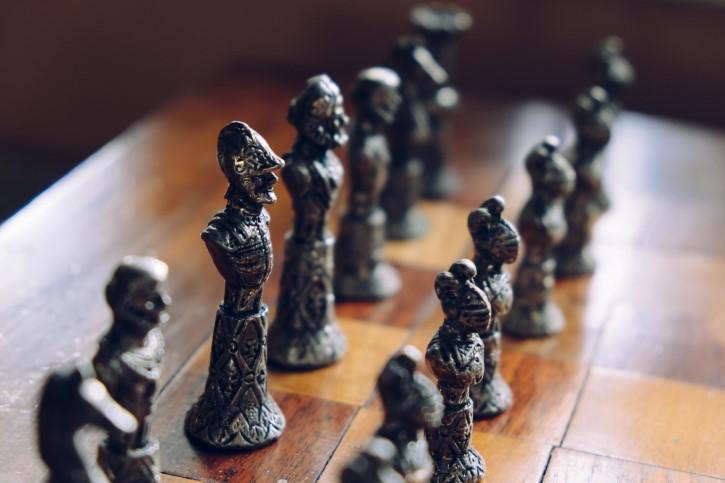 juego de ajedrez rey
