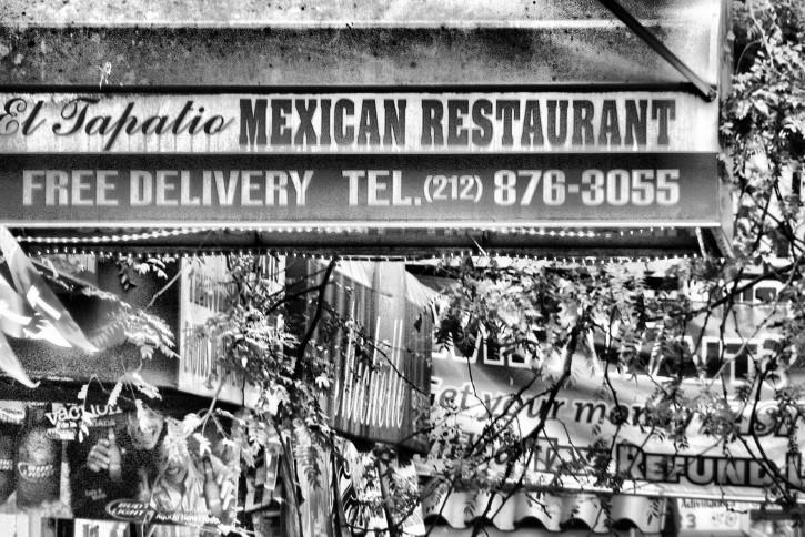 restaurante mexicano letrero