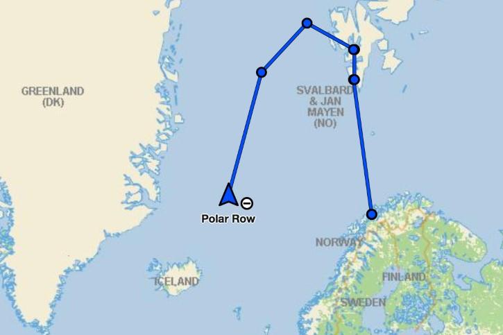 ruta de polar row