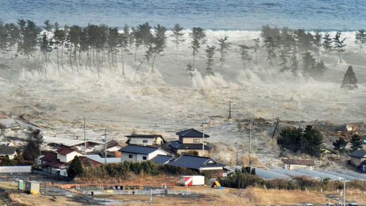 tsunami en el oceano indico
