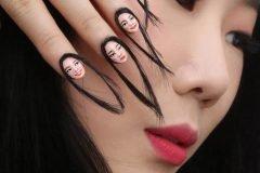 uñas con cabello (1)