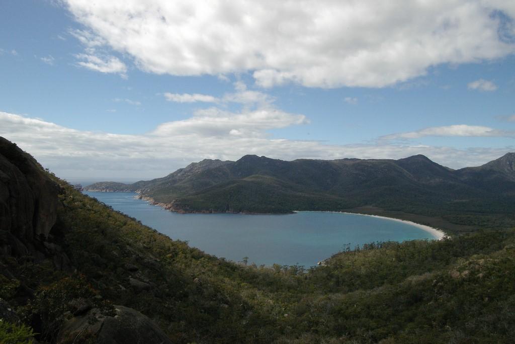 Bahia Wineglass en Tasmina Australia