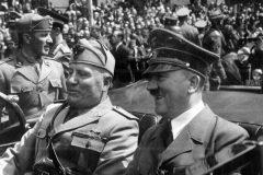 Benito Mussolini y Hitles Munich