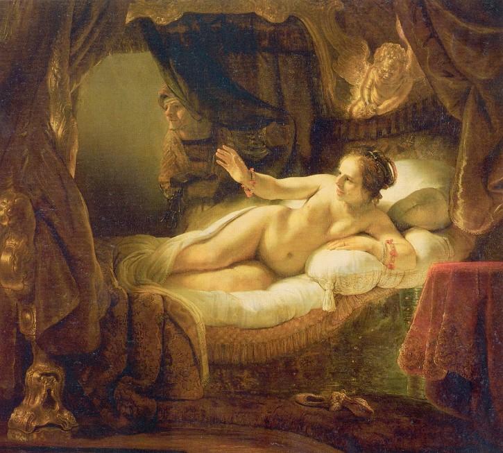 Dánae (Rembrandt) 1636