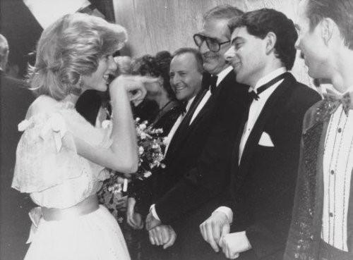 Diana y Rowan Atkinson
