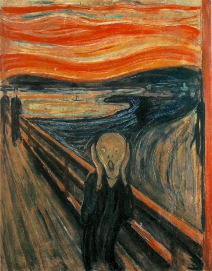 Edvard Munch pintura el grito