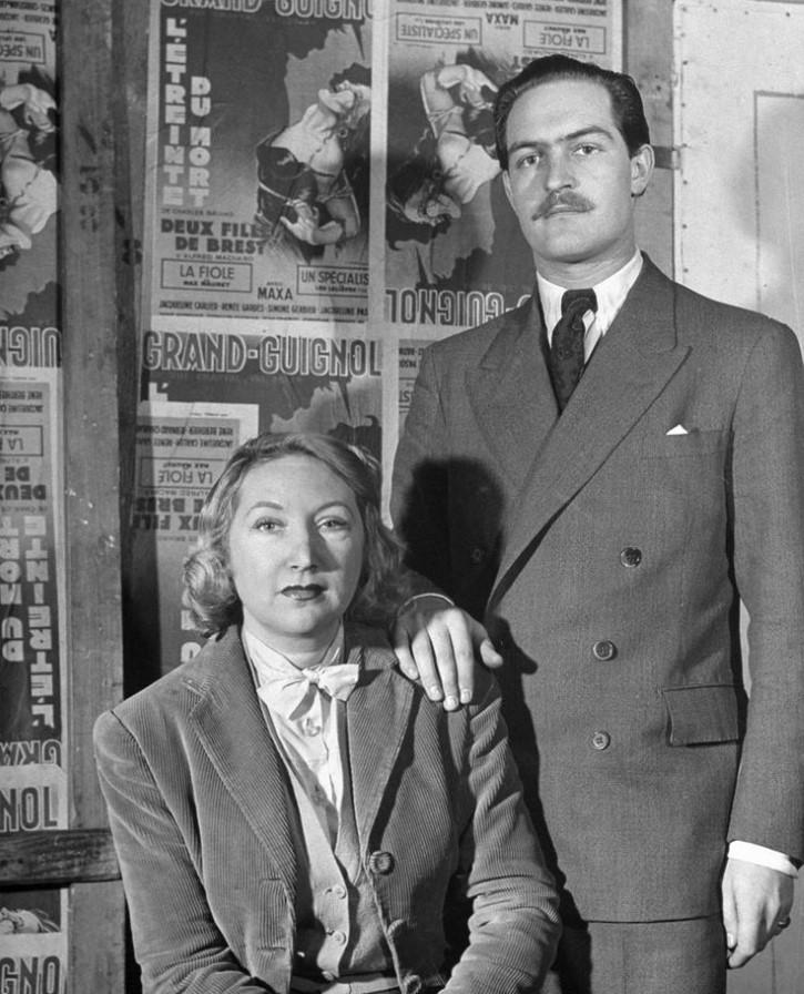 Eva Berkson y Derek Dundas