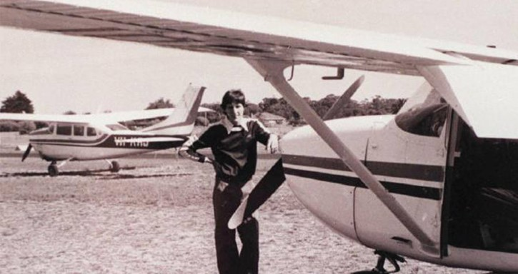Fred Valentich y su avion