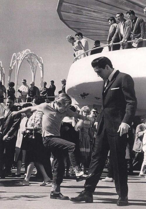 Kurt Russell y Elvis Presley