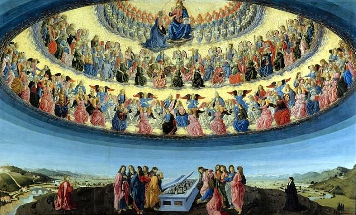 La Asunción de la Virgen de Francesco Botticini