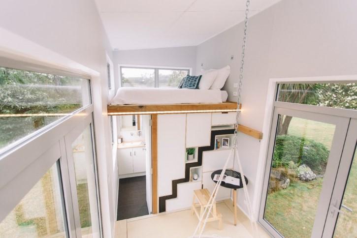Millennial Tiny House casa rodando minuscula (2)