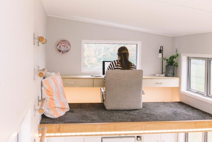Millennial Tiny House casa rodando minuscula (3)