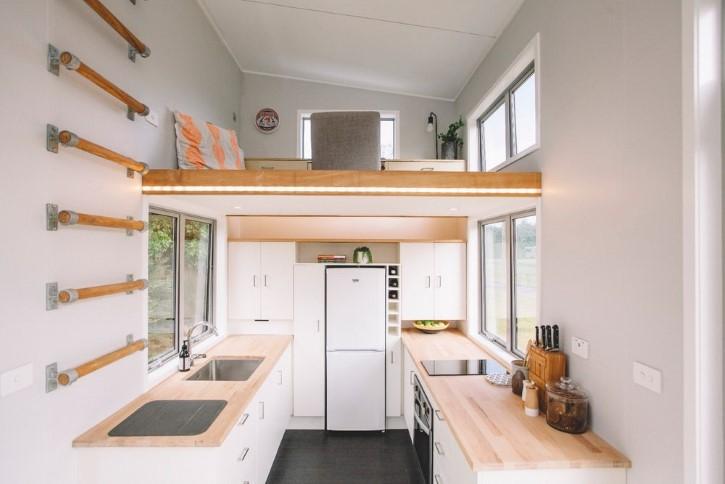 Millennial Tiny House casa rodando minuscula (4)