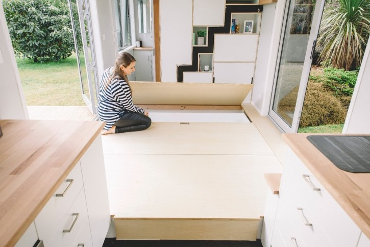 Millennial Tiny House casa rodando minuscula (7)