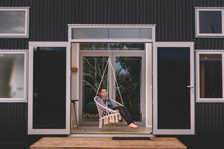 Millennial Tiny House casa rodando minuscula (9)