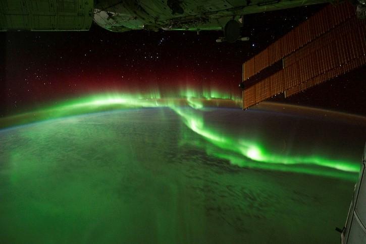 aurora boreal ISS