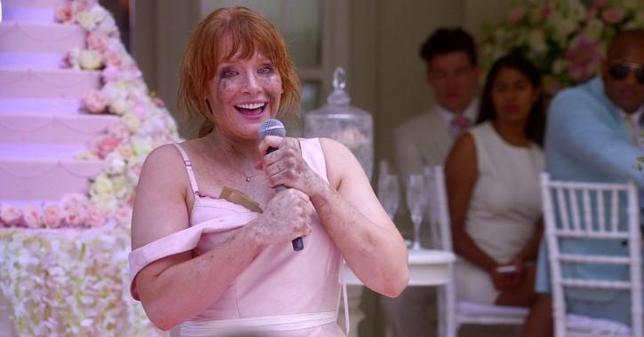 black mirror Nosedive boda escena
