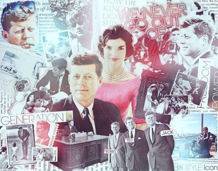 collage john f kennedy
