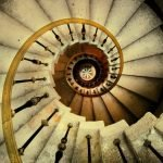 espiral escaleras