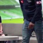 Futbolista sufre ataque de pánico y abandona entrevista en vivo