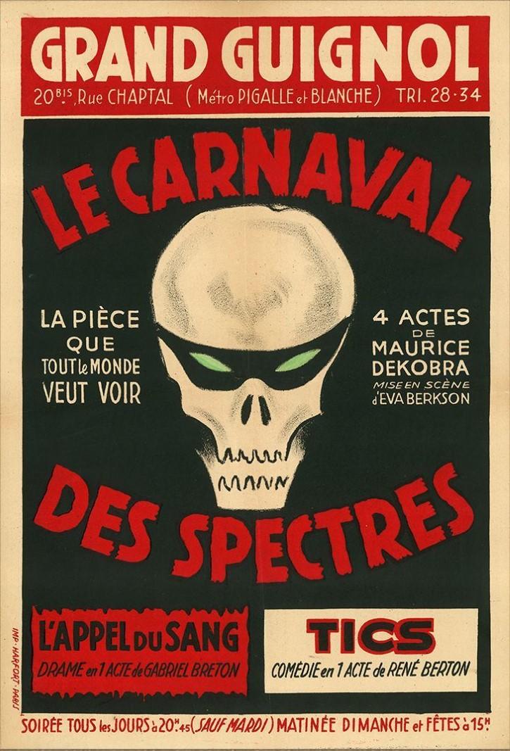 grand guignol cartel carnaval de espectros